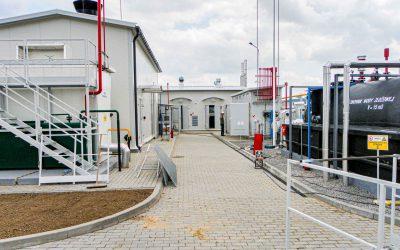 Zalesie, zagospodarowanie odwiertów gazowych