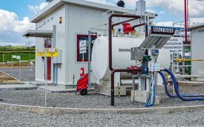 Siedleczka, zagospodarowanie odwiertów gazowych